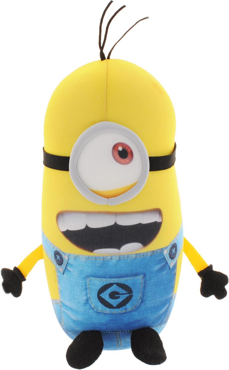 СмолТойс Мягкая игрушка-подушка Миньон Кевин 27 см2876-2/20Мягкая игрушка-подушка СмолТойс Миньон Кевин не оставит равнодушным ни ребенка, ни взрослого и вызовет улыбку у каждого, кто ее увидит. Мягкая и приятная на ощупь подушка выполнена в форме одного из главных героев известного мультфильма Миньоны. Подушка может быть еще и игрушкой для вашего ребенка. Необычайно мягкая, она принесет радость и подарит своему обладателю мгновения нежных объятий и приятных воспоминаний. Такая игрушка-подушка станет отличным аксессуаром для детской комнаты.