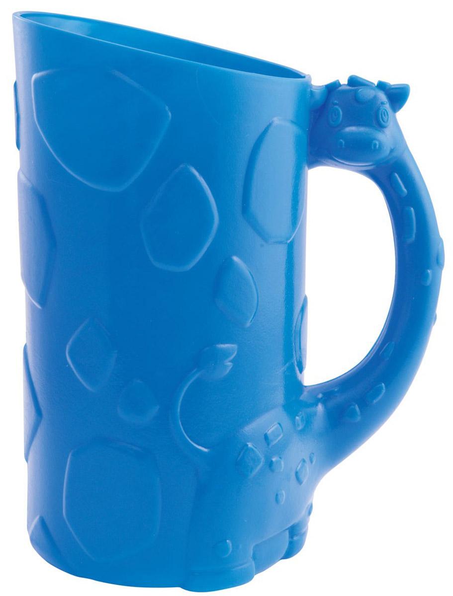 Munchkin Кувшин для мытья волос цвет синий11336Мягкий кувшин-ополаскиватель Munchkin позволит сделать мытье волос ребенка еще проще! Благодаря мягкому краю, кувшин помогает предотвратить попадание мыла и воды в глаза малыша. Нужно осторожно прижать мягкий обод ко лбу ребенка и смыть шампунь и мыло с волос. Простая, удобная ручка помогает полностью контролировать процесс ополаскивания. Кредо Munchkin, американской компании с 20-летней историей: избавить мир от надоевших и прозаических товаров, искать умные инновационные решения, которые превращает обыденные задачи в опыт, приносящий удовольствие. Понимая, что наибольшее значение в быту имеют именно мелочи, компания создает уникальные товары, которые помогают поддерживать порядок, организовывать пространство, облегчают уход за детьми - недаром компания имеет уже более 140 патентов и изобретений, используемых в создании ее неповторимой и оригинальной продукции. Munchkin делает жизнь родителей легче!