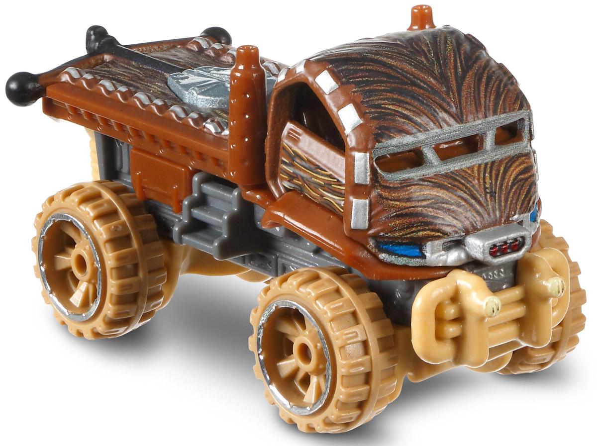 Hot Wheels Star Wars Машинка ChewbaccaDXN83_DXP43Отпразднуй 25-летие с этой уникальной серией серебристых машинок. Идеально подходит для коллекционирования! У каждой машинки — серебристый кузов, шины, колесные диски, клетка безопасности, ходовая часть, окно. А еще в комплекте памятная серебристая монета!