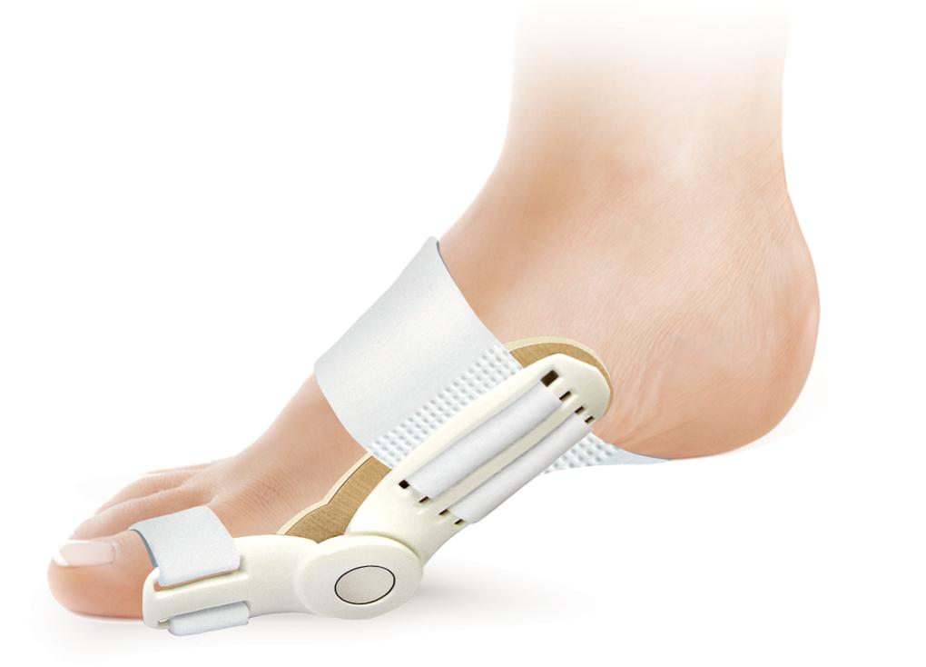 Ttoman Бандаж для большого пальца стопы НV-02. РазмерHV-02Особенности: • пластиковый шарнир сохраняет естественную подвижность сустава • мягкая прокладка для сустава • липучка «Велкро» • универсальный, подходит для левой и правой ноги Показания к применению: • вальгусная деформация большого пальца стопы( Hallux Valgus) • период реабилитации после операций на суставе большого пальца Состав: • нейлон - 100% • пластик размер: универсальный цвет: белый