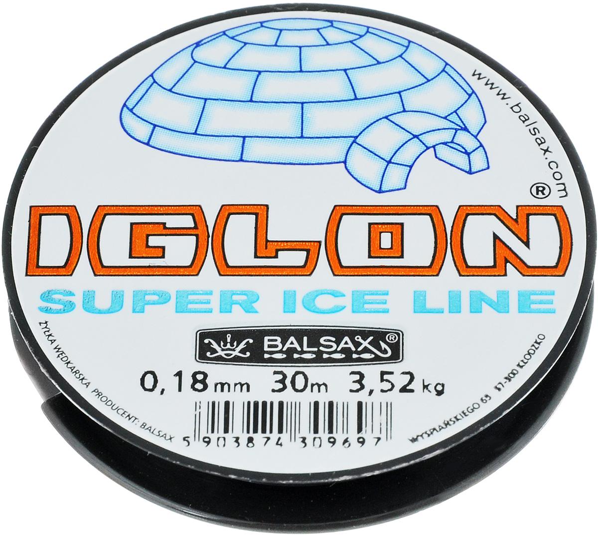 Леска зимняя Balsax Iglon, 30 м, 0,18 мм, 3,52 кг312-06018Леска зимняя Balsax Iglon изготовлена из 100% нейлона и очень хорошо выдерживает низкие температуры. Поверхность лески обработана таким образом, что она не обмерзает и отлично подходит для подледного лова. Прочна в местах вязки узлов даже при минимальном диаметре.