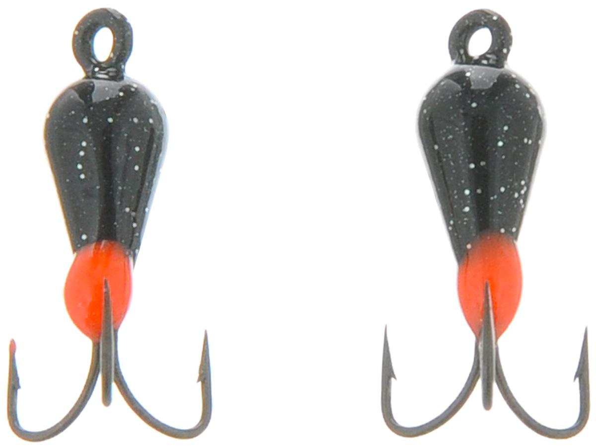 Чертик вольфрамовый Finnex, цвет: черный, красный, 0,56 г, 2 штT2BD_черный, красныйВольфрамовый чертик Finnex - одна из самых популярных приманок для ловли леща, плотвы и другой белой рыбы. Особенно хорошо работает приманка на всевозможных водохранилищах. Не пропустит ее и другая рыба, в том числе окунь, судак и щука.