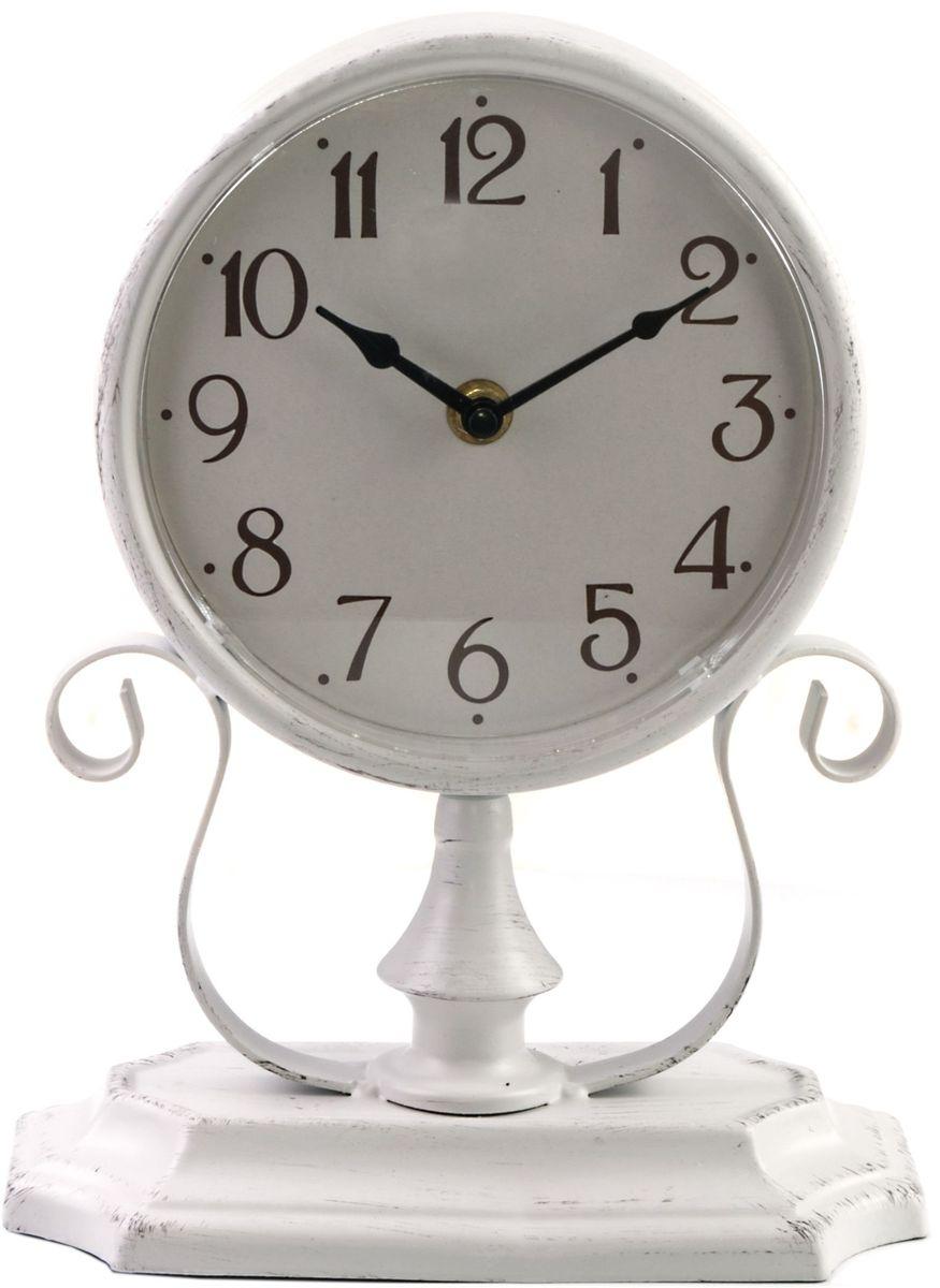 Часы настольные Miralight, цвет: серый. ML-5121ML-5121 Antique grey Часы настольные серые