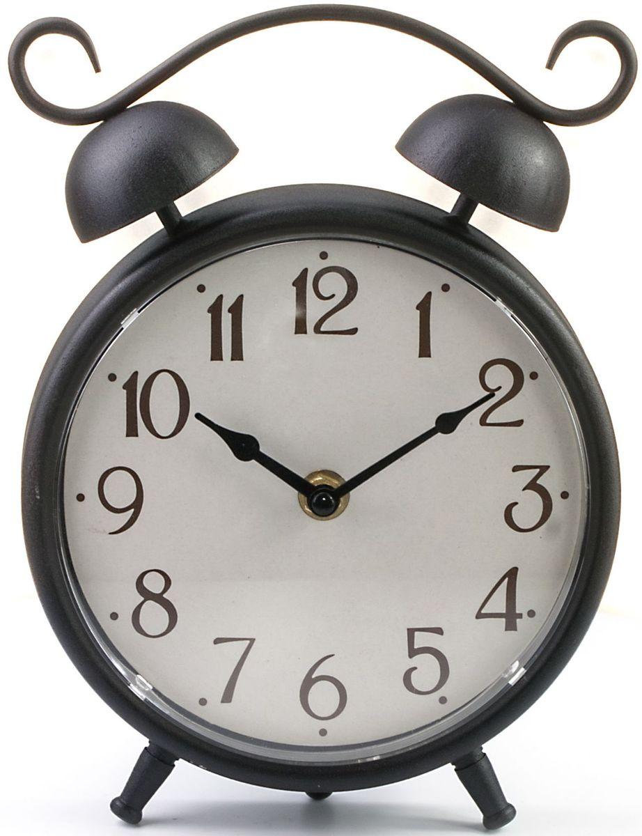 "Часы настольные Miralight ""Будильник"", цвет: античная медь. ML-5123"