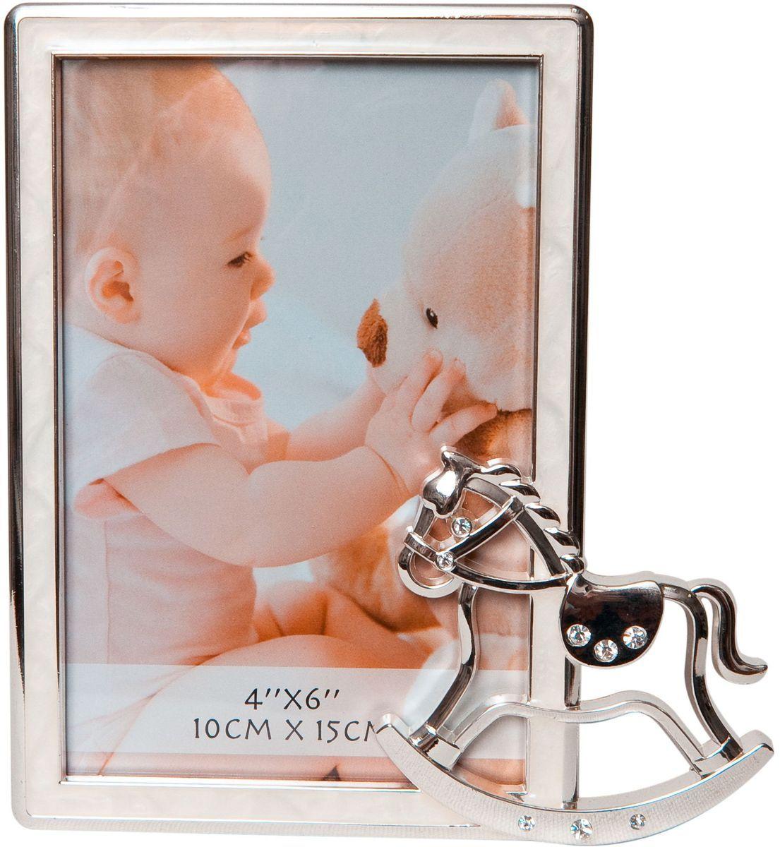 Фоторамка декоративная Platinum Лошадка, 10 х 15 см. PF10239PLATINUM PF10239