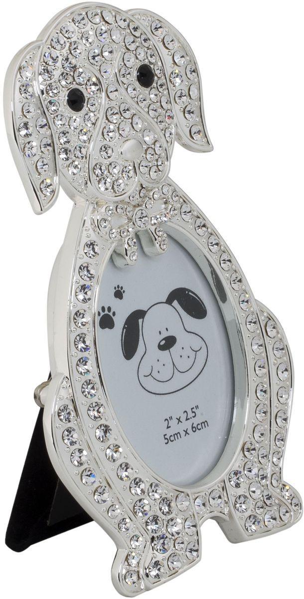 Фоторамка-мини декоративная Platinum Щенок, 5 х 6 см. PF10270PLATINUM PF10270
