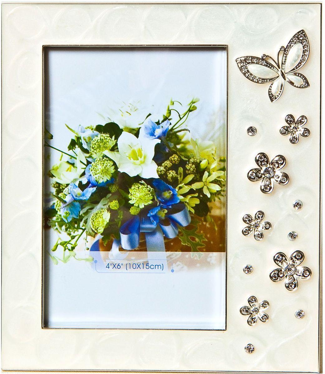 Фоторамка декоративная Platinum Бабочки и цветы, 10 х 15 см. PF10393PLATINUM PF10393