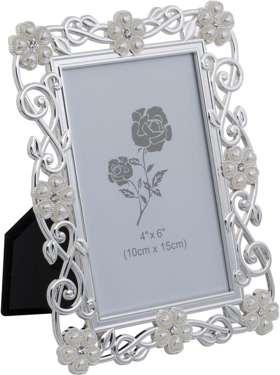 Фоторамка декоративная Platinum Цветы, 10 х 15 см. PF10806C-4PLATINUM PF10806C-4