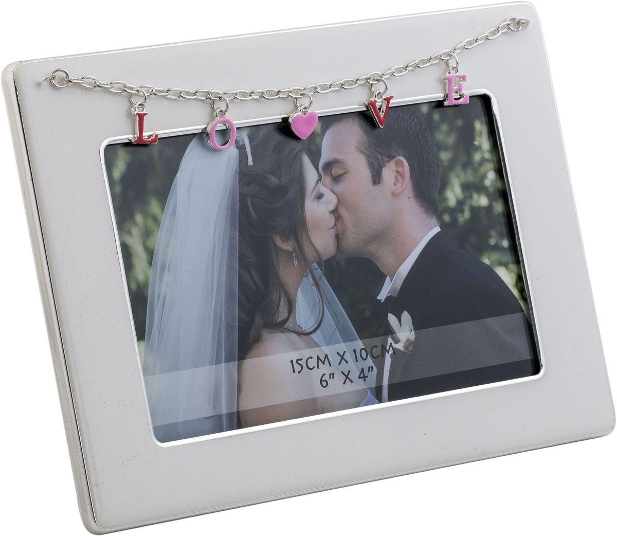 Фоторамка декоративная Platinum Love, 10 х 15 см. PF11301R-4PLATINUM PF11301R-4