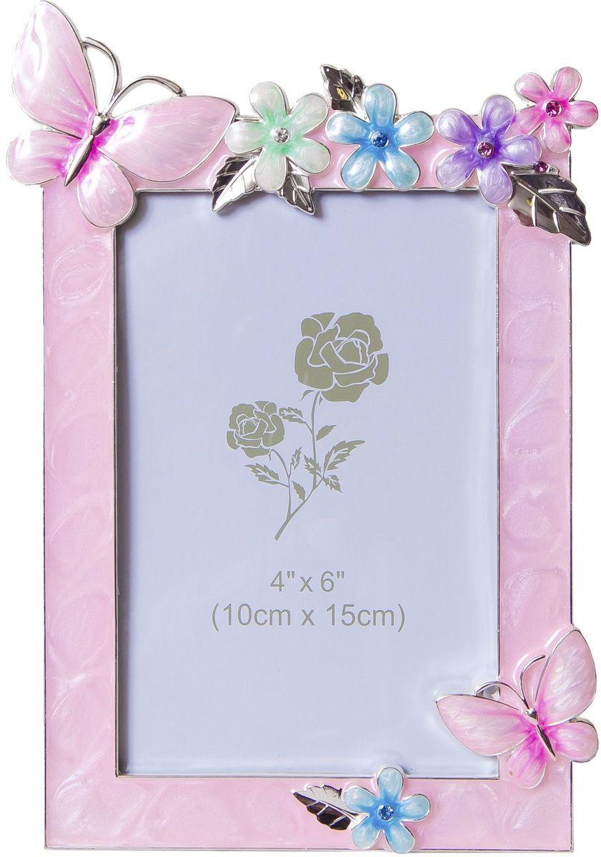 Фоторамка декоративная Platinum Бабочки и цветы, 10 х 15 см. PF3513PPLATINUM PF3513P