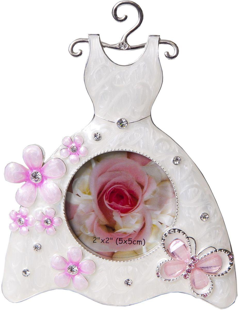 Фоторамка-мини декоративная Platinum Платье, 5 х 5 см. PF3528PLATINUM PF3528