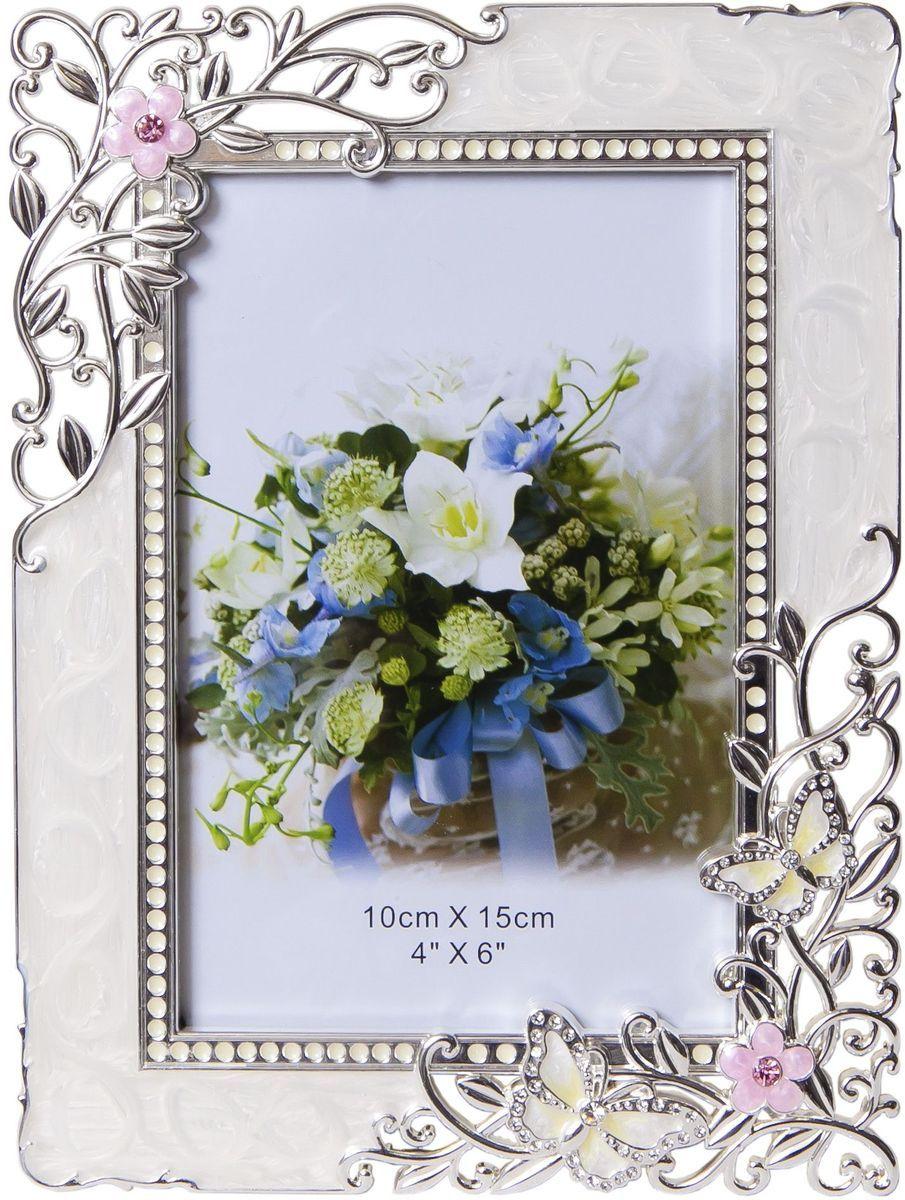 Фоторамка декоративная Platinum Бабочки и цветы, 10 х 15 см. PF9869APLATINUM PF9869A