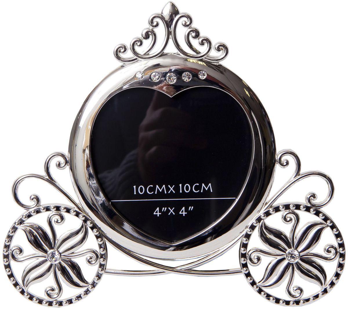 Фоторамка декоративная Platinum Карета, 10 х 10 см. PF9873-4PLATINUM PF9873-4