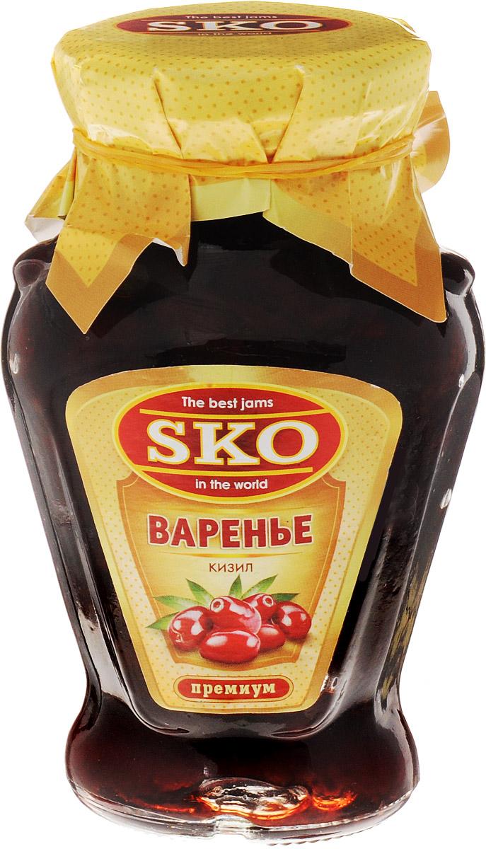 SKO варенье из кизила, 400 г11009Варенье из кизила SKO - армянское варенье, приготовленное по домашним рецептам и современным технологиям, не содержит пектина. Может использоваться для приготовления пирогов, тортов и других разнообразных десертов, а также в качестве самостоятельного лакомства. Варенье из кизила - это не только вкусное, но и чрезвычайно полезное лакомство. Варенье из кизила употребляют при проблемах с желудочно-кишечным трактом, расстройствах стула, заболеваниях почек, печени, суставов, головных болях. Оказывает свое полезное влияние кизиловое варенье на кожу, на неправильный обмен веществ, вызывающий полноту, на лечение таких простудных заболеваний, как ангина, грипп, ОРВИ. Уважаемые клиенты! Обращаем ваше внимание, что полный перечень состава продукта представлен на дополнительном изображении.