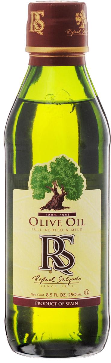 Rafael Salgado масло оливковое, 250 мл5637Оливковое масло Rafael Salgado - это смесь масла Extra Virgin и масла, полученного путем рафинации оливкового масла первого отжима. Благодаря добавлению масла Extra Virgin, рафинированное оливковое масло приобретает мягкий вкус и тонкий аромат. Оливковое масло устойчиво к термическому окислению и при многократном использовании не образует канцерогенные вещества, поэтому идеально подходит для жарки и фритюра. Основанная 140 лет назад компания Rafael Salgado является одним из крупнейших производителей оливкового масла в Испании и поставляет сегодня свою продукцию более чем в 90 стран мира. Уважаемые клиенты! Обращаем ваше внимание, что полный перечень состава продукта представлен на дополнительном изображении.