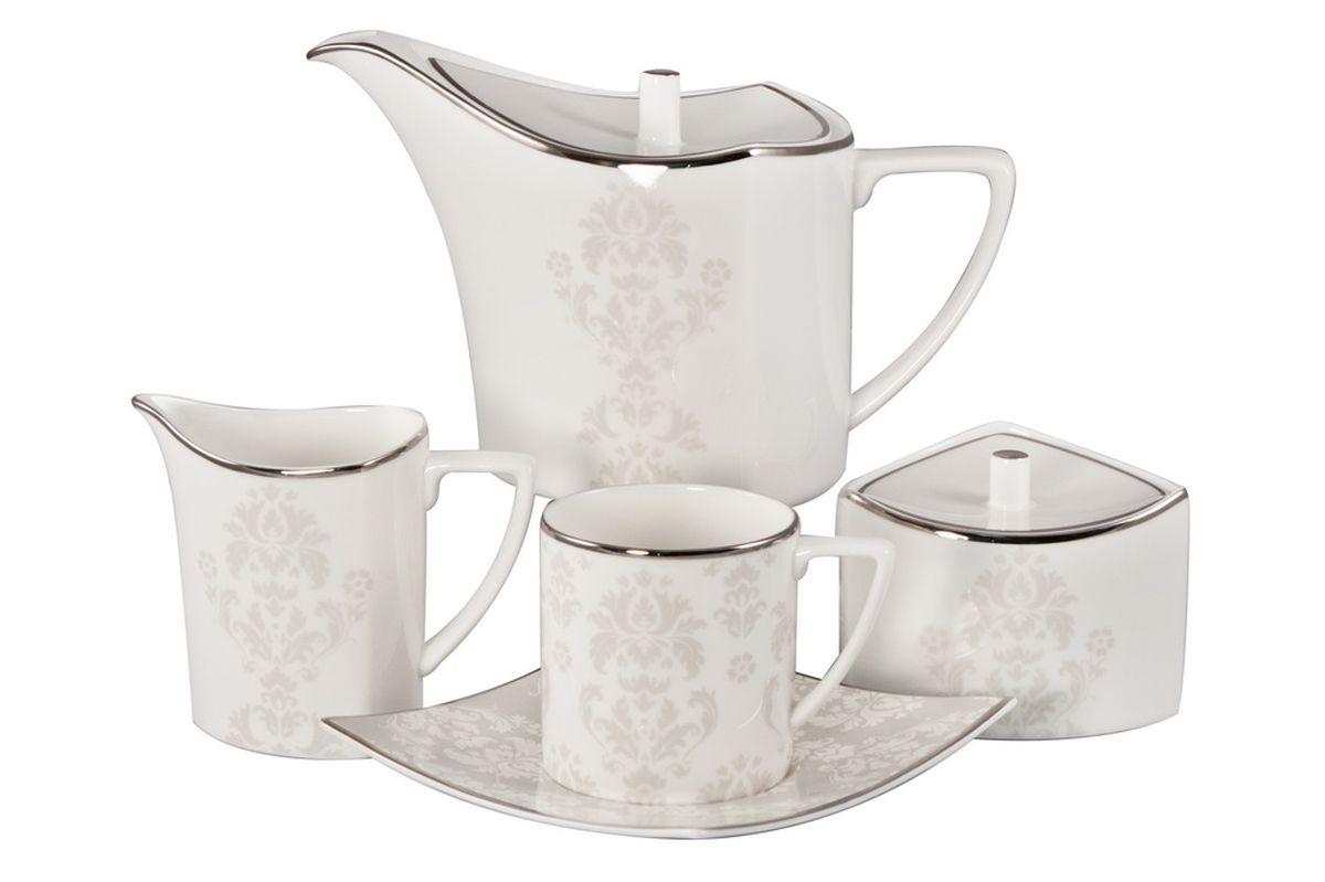 """Сервиз чайный Royal Bone China """"Париж"""", 17 предметов"""