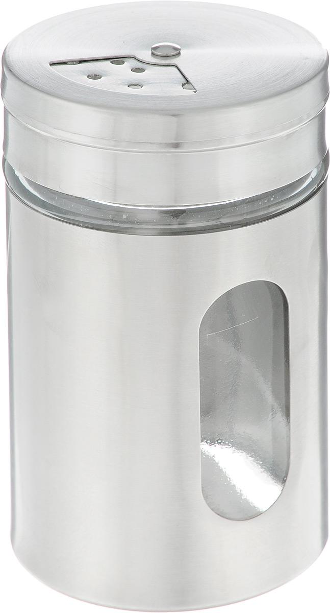 Емкость для специй Zeller. 1996119961Емкость для специй Zeller создана для того, чтобы сохранить вкус и свежесть специй максимально долго. Банка выполнена из качественного стекла и нержавеющей стали, закрывается прочной вращающейся крышкой, благодаря чему специи всегда будет оставаться сухими и свежими. Крышка снабжена отверстиями разного диаметра. Емкость для специй Zeller станет превосходным декоративным элементом на вашей кухне и прекрасным подарком любой хозяйке.