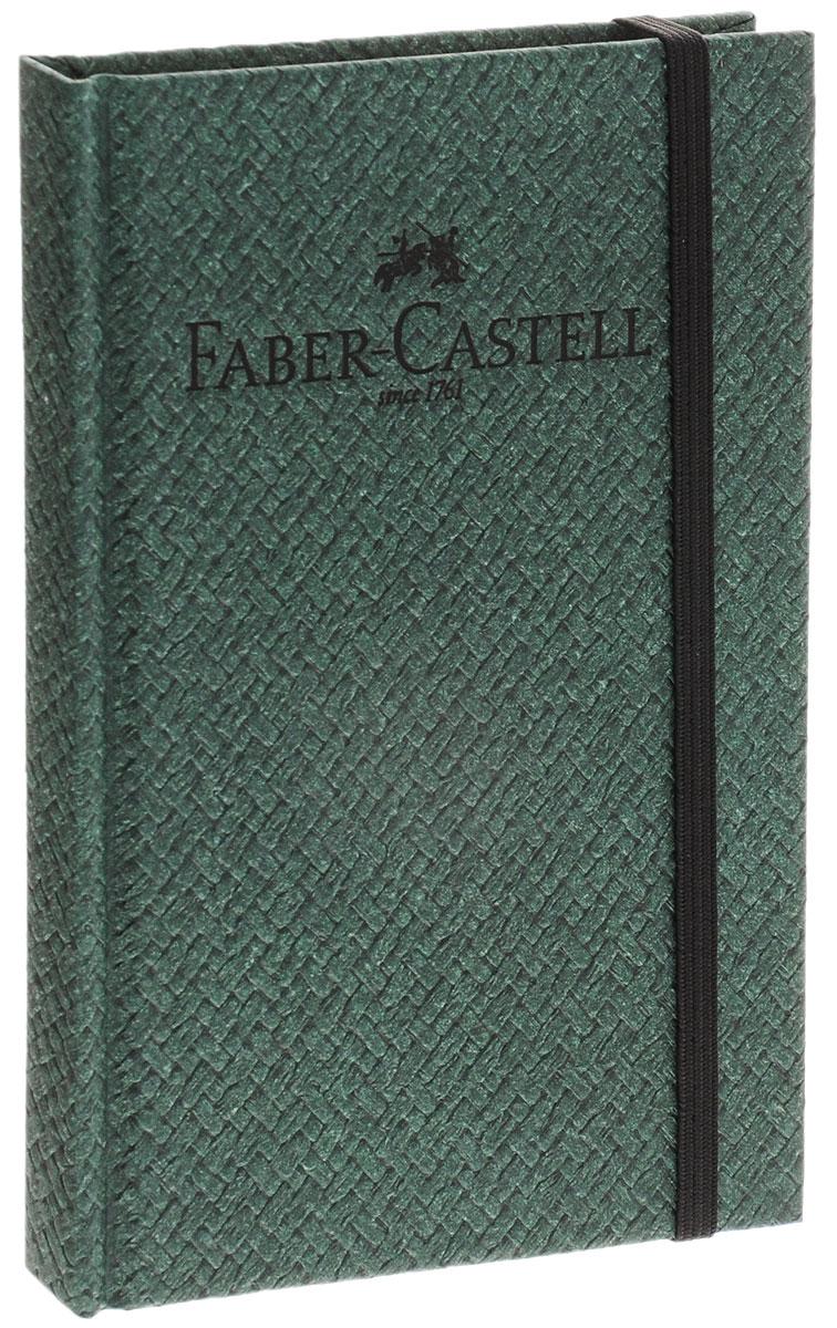 Faber-Castell Блокнот Бамбук 50 листов в линейку цвет темно-зеленый400802Блокнот Faber-Castell Бамбук - незаменимый атрибут современного человека, необходимый для рабочих и повседневных записей в офисе и дома. Обложка блокнота выполнена из картона и оформлена надписью бренда. Внутренний блок состоит из 50 листов бумаги. Стандартная линовка в серую линейку без полей. Листы блокнота надежно сшиты. Блокнот фиксируется при помощи резинки, имеет ляссе.