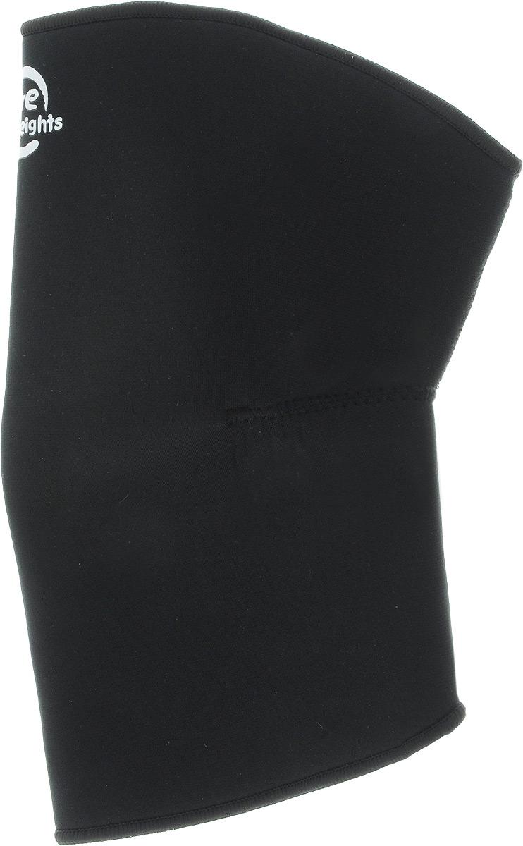Наколенник Artist Lite Weights, цвет: черный. Размер XL (39-41 см)5115NS р-р XLНаколенник Artist Lite Weights предназначен для защиты ножных мышц от растяжений, а также для защиты коленной чашечки от ушибов во время занятий спортом. Неопреновый суппорт колена обеспечивает мягкую поддержку и сохраняет тепло. Также выполняет профилактику травм связок при занятиях спортом и выполнении работ, связанных с физической нагрузкой. Незаменимы суппорты в период восстановления после травм. Суппорт способствует облегчению боли в мышцах и суставах, ограничивает излишнюю подвижность сустава при небольших повреждениях. Преимущества суппорта: обеспечивает мягкую, но надежную поддержку и компрессию ослабленных мышц, не ограничивая при этом подвижность и не препятствуя нормальной циркуляции крови; способствует уменьшению отеков, снятию усталости и напряженности мышц, помогает ослабить болевые ощущения; для дополнительного удобства суппорт имеет анатомическую форму и плоские швы; толщина ткани 3 мм; изготовлен из...