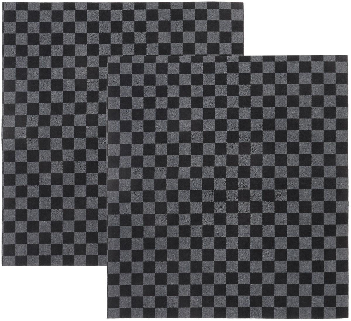 Коврик автомобильный Главдор, в салон, влаговпитывающий, 40 х 45 см, 2 штGL-144-клеткаВлаговпитывающий коврик Главдор применяется в качестве защитной подстилки в салоне автомобиля. Он отлично впитывает влагу. Коврик изготовлен из полипропилена и впитывающего материала. Изделие защитит вашу одежду от грязи и каблуки от расслаивания и стирания о резиновый коврик. В комплект входят два коврика. Размер коврика: 40 х 45 см.