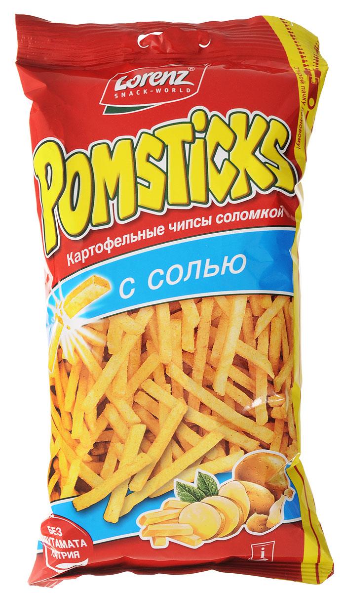 Lorenz Pomsticks картофельные чипсы с солью, 100 г