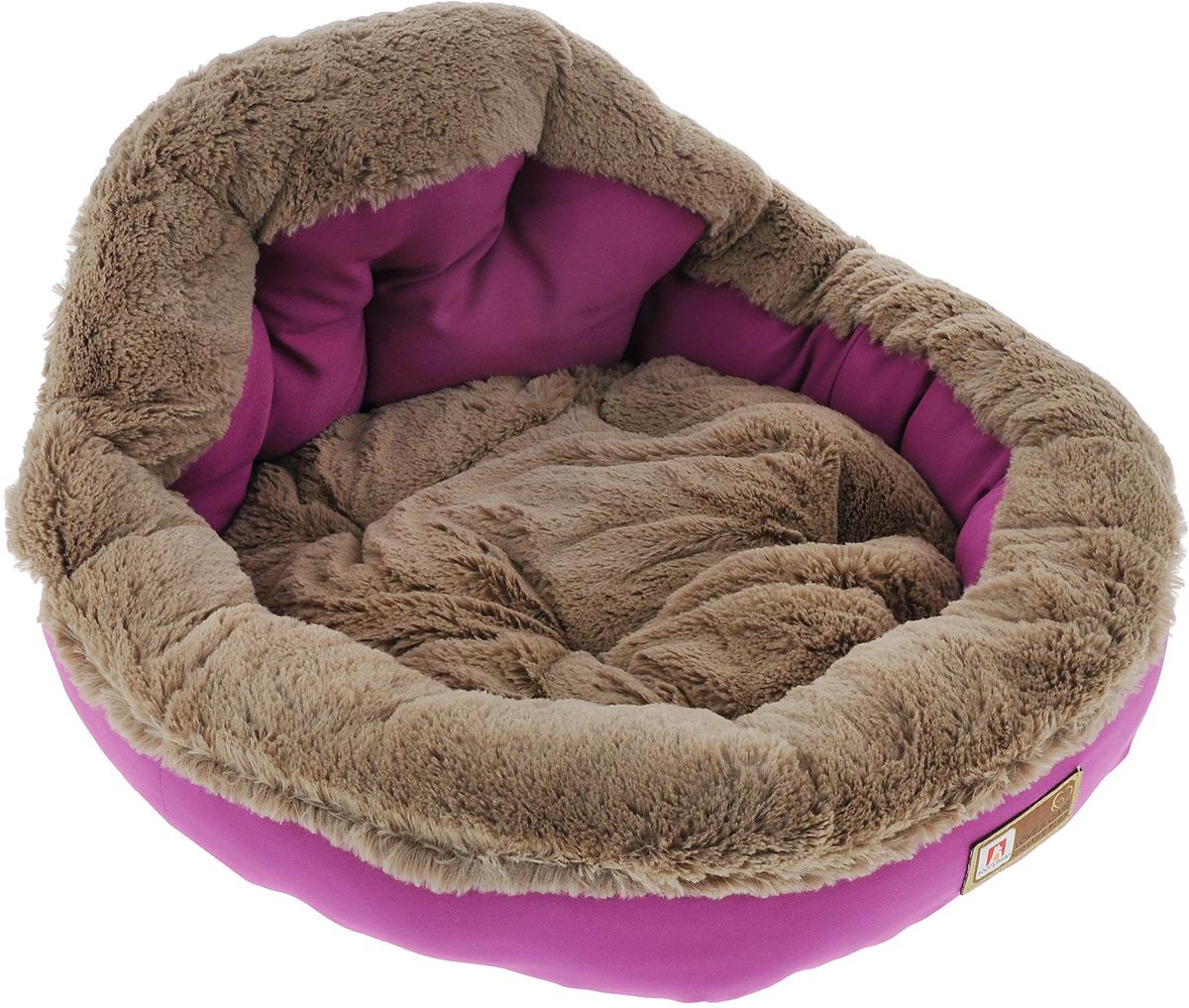 Лежак для собак и кошек Зоогурман Президент, цвет: розовый, 45 см х 45 см х 20 см2182Мягкий и уютный лежак для кошек и собак Зоогурман Президент обязательно понравится вашему питомцу. Лежак выполнен из нежного, приятного материала. Внутри - мягкий наполнитель, который не теряет своей формы долгое время. Внутри лежака съемная меховая подушка. Мягкий, приятный и теплый лежак обеспечит вашему любимцу уют и комфорт. За изделием легко ухаживать, можно стирать вручную или в стиральной машине при температуре 40°С. Материал бортиков: микроволоконная шерстяная ткань. Материал спинки и матрасика: искусственный мех. Наполнитель: гипоаллергенное синтетическое волокно. Размер: 45 см х 45 см х 20 см.