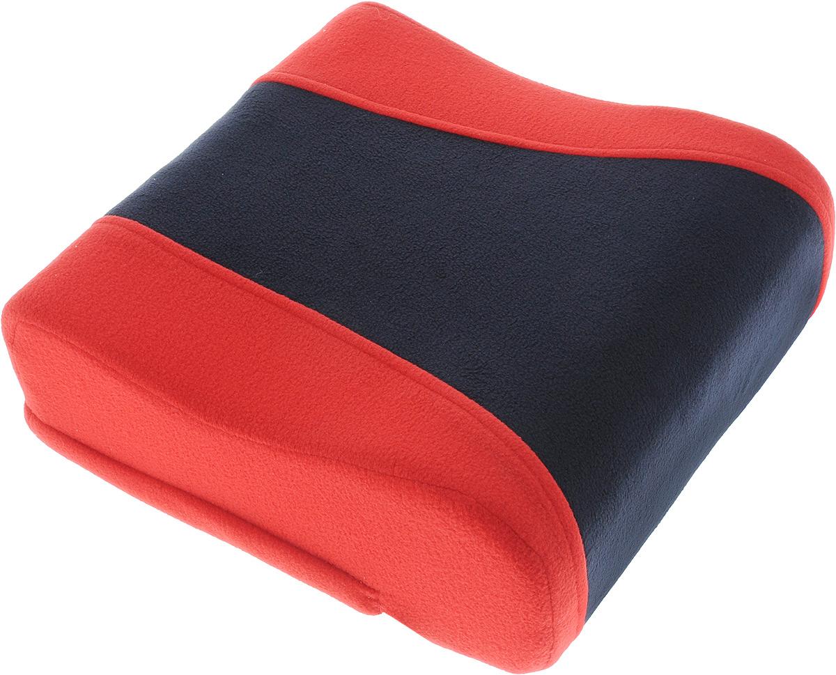 Подушка вспомогательная Антей Бустер, цвет: красный, темно-синий, 6-12 лет, до 36 кг22622_красныйПодушка вспомогательная Антей Бустер - сиденье для безопасной перевозки ребенка в автомобиле, группа 3 (22-36 кг), для детей 6-12 лет. Подушка выполнена из флиса, в качестве наполнителя используется поролон. Детское сиденье устанавливается на любое, кроме переднего ряда, посадочное место в автомобиле, оборудованное диагонально-поясным ремнем безопасности. Поверхность изделия препятствует скольжению по сиденью. Анатомическая верхняя часть позволяет использовать его при поездках на дальние расстояния. Также вы можете использовать сиденье для кормления ребенка на взрослом стуле за обеденным столом. При загрязнении наружный чехол легко снимается для стирки.