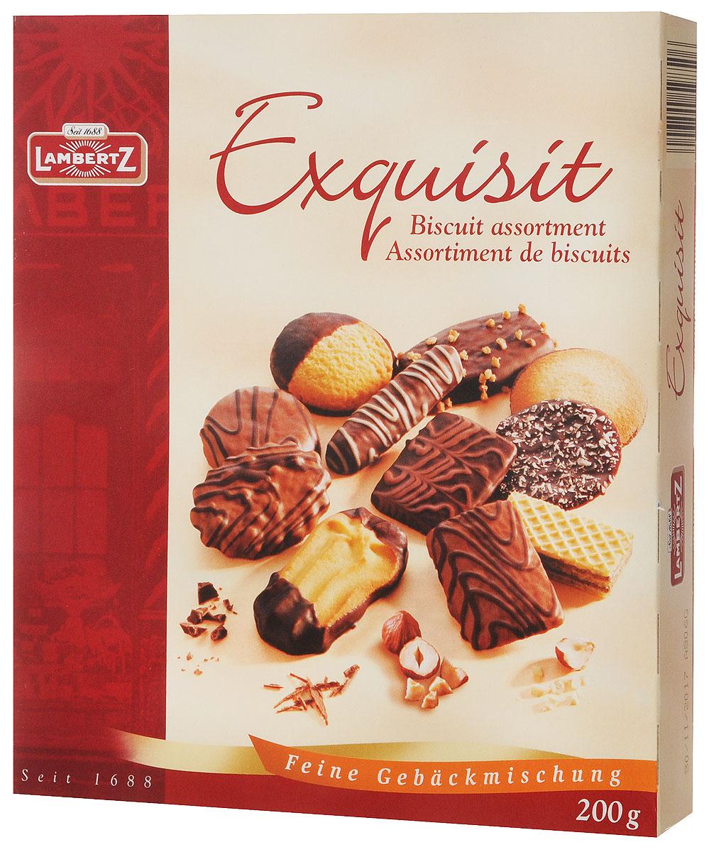 Lambertz Exquisit печенье ассорти, 200 г 59851