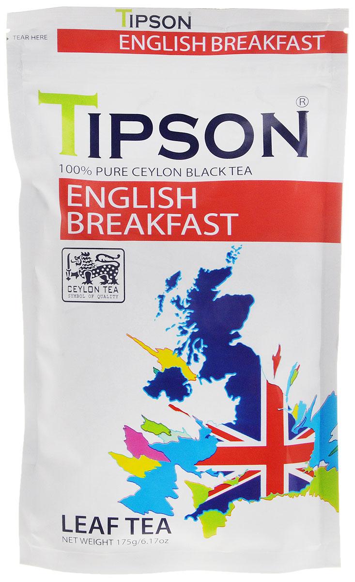 Tipson Английский завтрак черный листовой чай, 175 г80115-00Требуются огромные усилия, чтобы сохранить традиционные ценности чаепития в стремительном ритме современной жизни. В чайном бренде Tipson удалось осуществить почти невозможное, создав уникальные рецептуры чая, которые отражают лучшие традиции чайного производства и через творческий дизайн раскрывают его новаторский потенциал. Невозможно представить классический английский завтра без чая. Tipson поддерживает эту традицию, развивает ее и дополняет новаторским подходом.