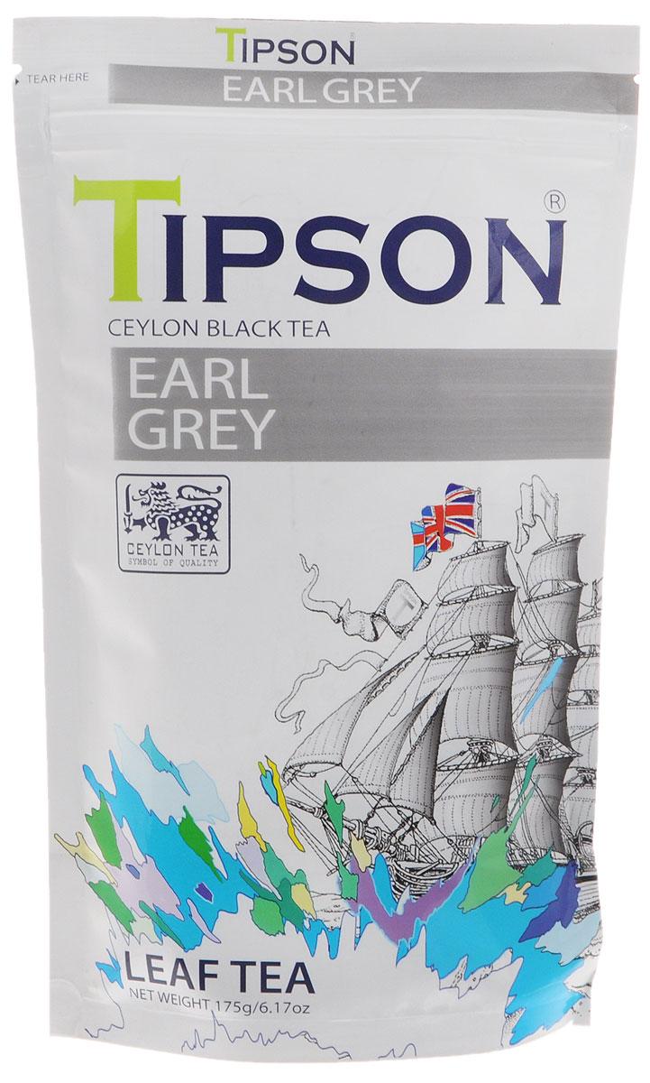 Tipson Эрл Грей черный листовой чай с ароматом бергамота, 175 г80117-00Требуются огромные усилия, чтобы сохранить традиционные ценности чаепития в стремительном ритме современной жизни. В чайном бренде Tipson удалось осуществить почти невозможное, создав уникальные рецептуры чая, которые отражают лучшие традиции чайного производства и через творческий дизайн раскрывают его новаторский потенциал. Герцогиню Бедфорд считали первым человеком, для которой послеобеденный чай в Англии был вдохновением. В лучших традициях - бодрящий и насыщенный бергамотом вкус чая. Чай Эрл Грей со свежим вкусом поможет вам расслабиться.