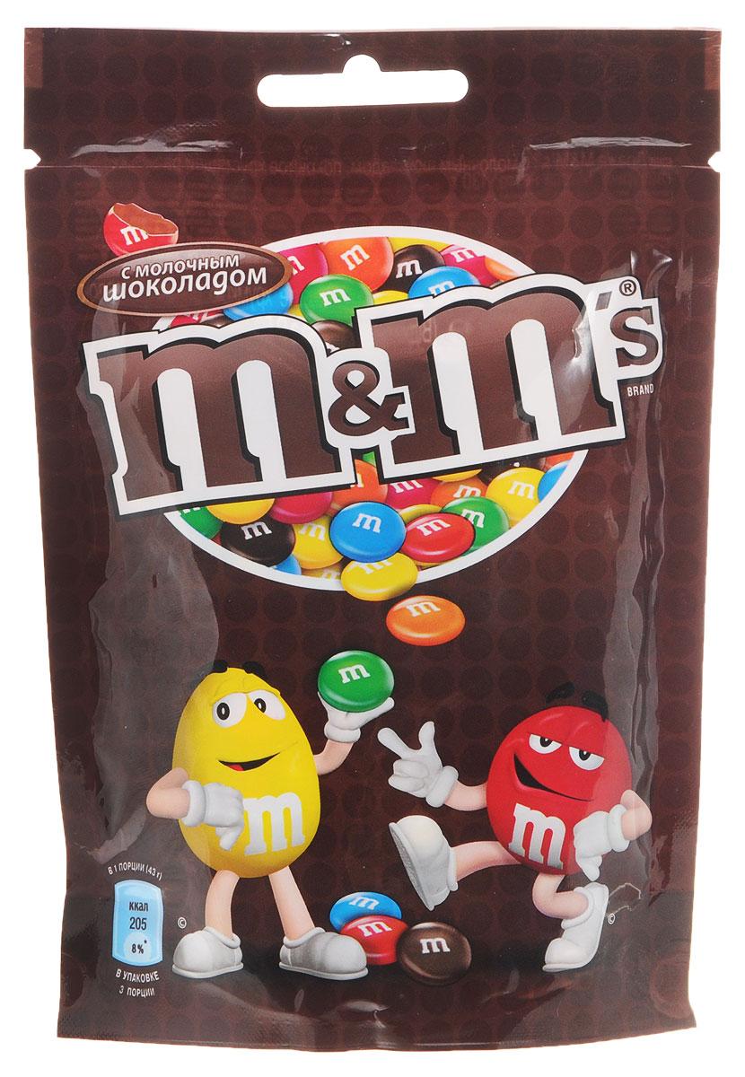 M&M's драже с молочным шоколадом, 130 г 79003022