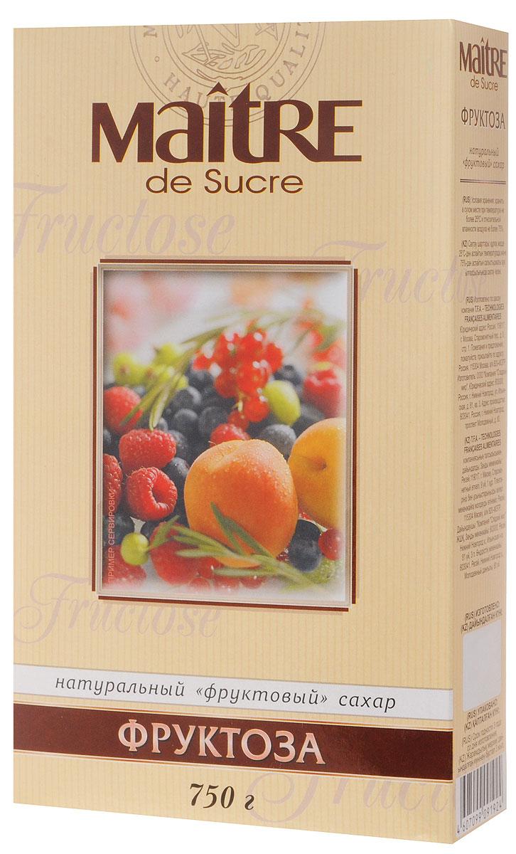 Maitre de Sucre фруктоза, 750 г