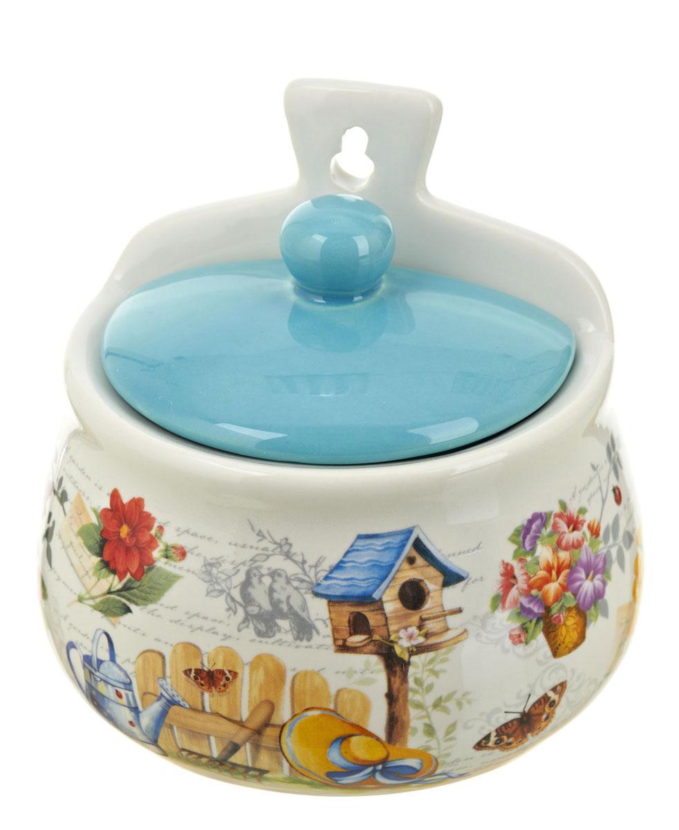 Солонка ENS Group Сад, 500 мл0660051Оригинальная солонка Сад изготовлена из высококачественной керамики. Изделие имеет отверстие для подвешивания. Солонка украсит любую кухню и подчеркнет прекрасный вкус хозяина.