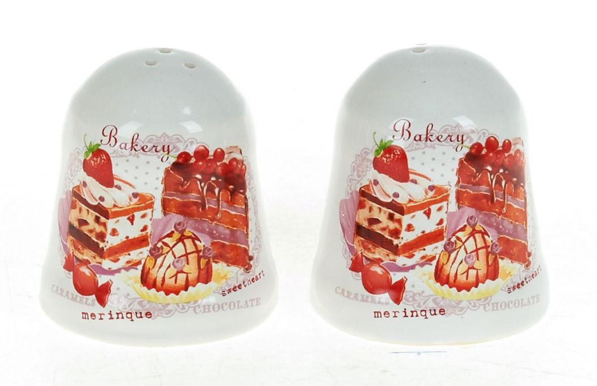 Набор для специй Polystar Бисквит, 2 предметаL3170234Набор для специй Бисквит, состоящий из солонки и перечницы, изготовлен из высококачественной керамики. Изделия украшены оригинальными рисунками. Солонка и перечница легки в использовании: стоит только перевернуть емкости, и вы с легкостью сможете поперчить или добавить соль по вкусу в любое блюдо. Дизайн, эстетичность и функциональность набора позволят ему стать достойным дополнением к кухонному инвентарю.