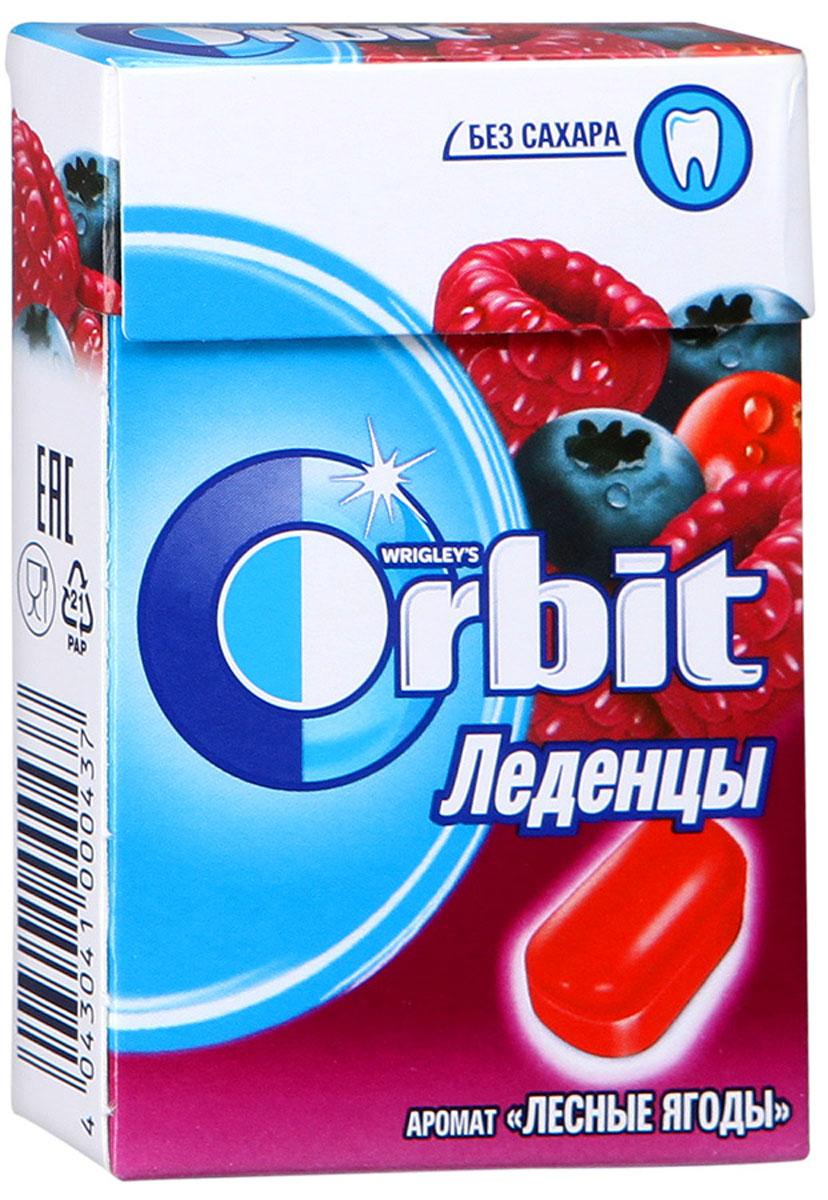 Orbit Лесные ягоды леденцы, 35 г4043041000437Леденцы Orbit с ароматом лесных ягод без сахара помогут сохранить свежее дыхание и насладиться ярким вкусом. Вкусные и освежающие леденцы для уверенной улыбки в любой ситуации! Уважаемые клиенты! Обращаем ваше внимание, что полный перечень состава продукта представлен на дополнительном изображении.