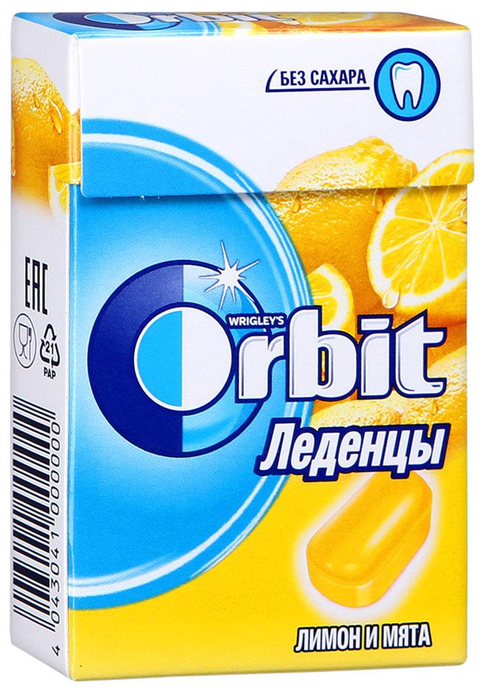 Orbit Лимон и мята леденцы, 35 г4043041000000Освежающие леденцы Orbit с ароматом лимона и мяты помогают восстановить кислотно-щелочной баланс во рту, и способствуют сохранению здоровья зубов. Уважаемые клиенты! Обращаем ваше внимание, что полный перечень состава продукта представлен на дополнительном изображении.