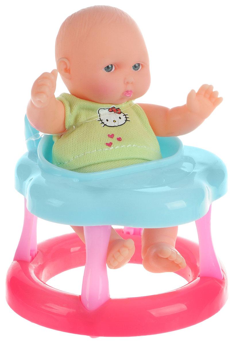 Карапуз Пупс Hello Kitty на стульчикеB1118261-RU-HELLO KITTY_на стульчикеПупс Карапуз Hello Kitty - это замечательная игрушка, с которой очень интересно играть. В комплекте с куклой имеется детский стульчик-ходунки. С маленьким карапузом можно играть не только в комнате и на улице, но и в воде. Игрушка выполнена из качественных и безопасных материалов. Благодаря играм с куклой, ваша малышка сможет развить фантазию и любознательность, овладеть навыками общения и научиться ответственности. Порадуйте свою принцессу таким прекрасным подарком!