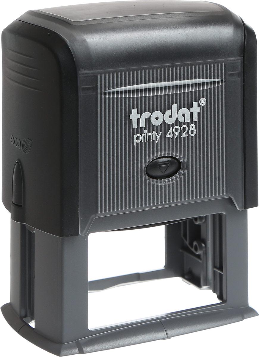 Trodat Оснастка для штампа 60 мм х 33 мм4928 P3Оснастка для штампа Trodat будет незаменима в отделе кадров или в бухгалтерии любой компании. Прочный пластиковый корпус с автоматическим окрашиванием гарантирует долговечное бесперебойное использование. Модель отличается высочайшим удобством в использовании и оптимально ложится в руку. Оттиск проставляется практически бесшумно, легким нажатием руки. Улучшенная конструкция и видимая площадь печати гарантируют качество и точность оттиска. Текстовые пластины прямоугольной формы 60 мм х 33 мм подойдут для изготовления клише по индивидуальному заказу. Модель оснащена кнопкой блокировки. Оснастка для штампа Trodat идеальна для ежедневного использования в офисе.