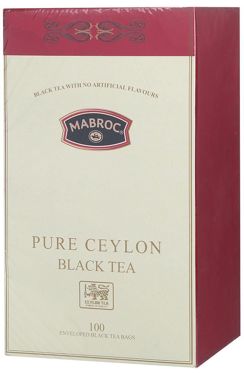 Mabroc Голд чай черный в пакетиках, 100 шт4791029006536Черный чай Mabroc Голд - это качественный чай с собственных плантаций по наилучшей цене. Его насыщенный вкус и терпкий аромат никого не оставят равнодушным.