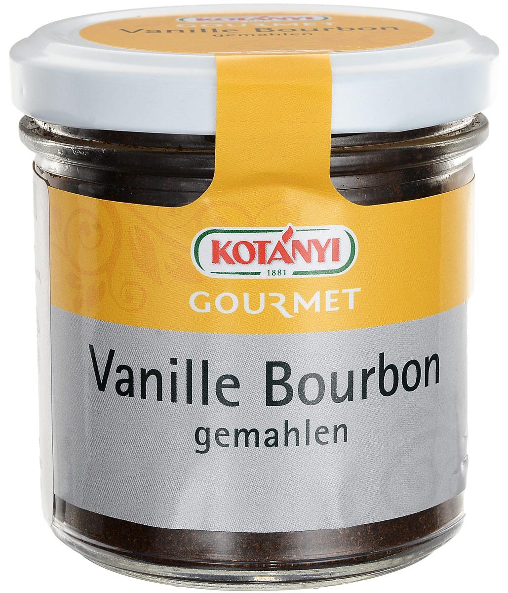 Kotanyi Ваниль бурбонная молотая, 60 г224401Вкус ванили, которую обычно называют «королевой специй», так высоко ценится, что среди специй она стоит по стоимости на втором месте, уступая лишь шафрану. Использование ванили имеет чрезвычайно длительную историю. Инки и ацтеки обожали нежные и очень душистые стручки и применяли их для придания вкуса какао и многим другим блюдам. Изысканную специю употребляли также и в качестве лекарства, и в качестве духов с эффектом афродизиака. По сей день тайна ванили остается неразгаданной. Наконец у вас есть возможность насладиться подлинным вкусом ванили, черпать ее ложками, так как Kotanyi теперь предлагает вам чистую молотую ваниль, удобную новинку для истинных поклонников этой специи! Ваниль облегчает и ускоряет приготовление пищи, придавая ей особый вкус и аромат. Продукт легко добавлять в блюдо, и его вид радует глаз. Благодаря молотой ванили десерты и сладкие блюда будут дарить гостям чувственный опыт, а соления приобретут неповторимую экзотическую нотку. ...