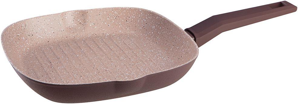 Сковорода-гриль Nadoba Tava, с антипригарным покрытием, 26 х 26 см728520Корпус из кованого алюминия. Прочное 4-слойное антипригарное полностью безопасное покрытие PFLUON Cookmark без PFOA. Ненагревающаяся ручка Софт-тач.
