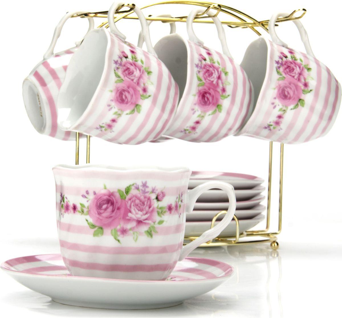 Сервиз чайный Loraine, на подставке, 13 предметов. 4328125937