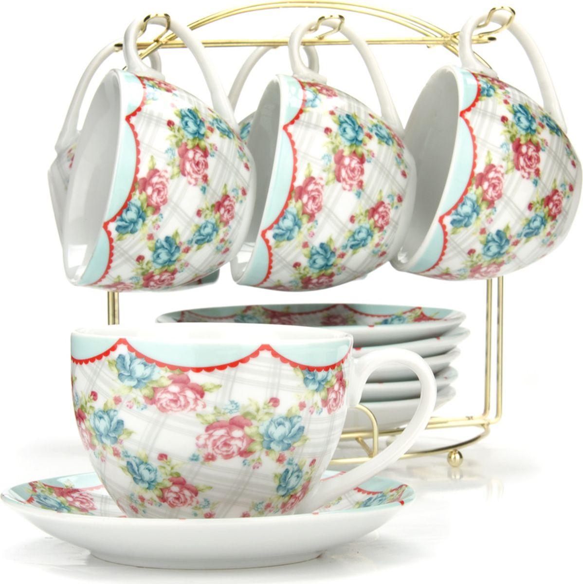 Сервиз чайный Loraine, на подставке, 13 предметов. 4329925951