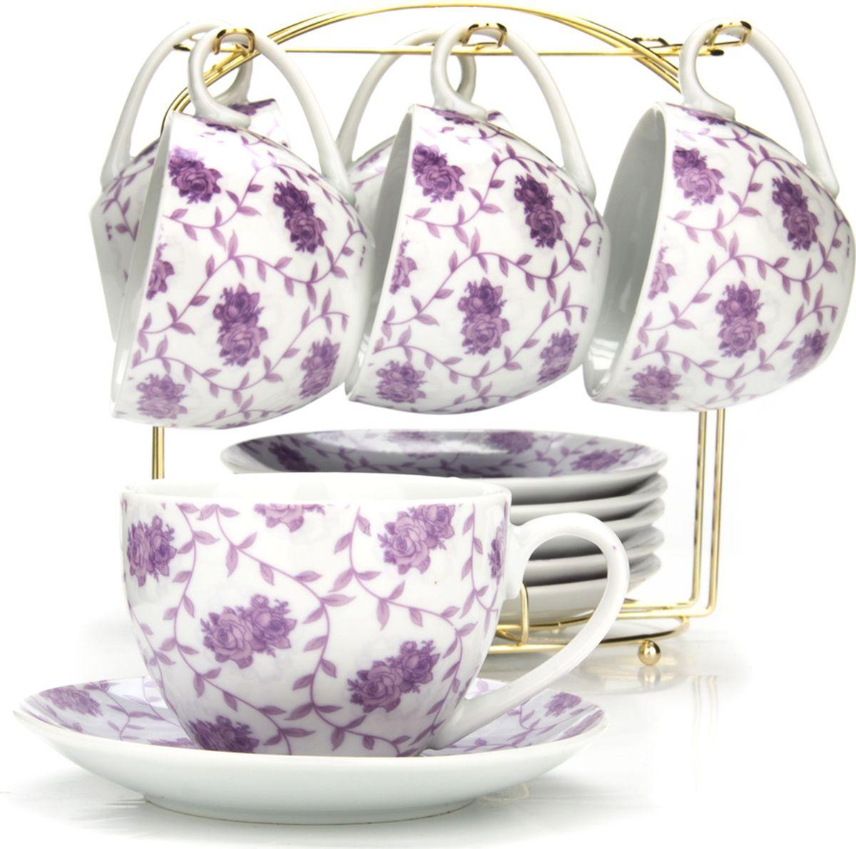 Сервиз чайный Loraine, на подставке, 13 предметов. 4329025954