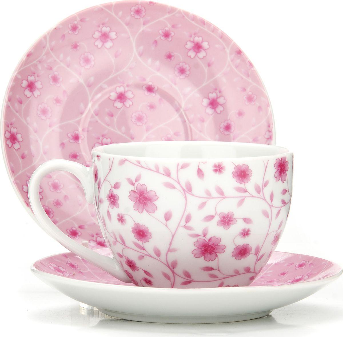 Сервиз чайный Loraine, на подставке, 13 предметов. 4329125955