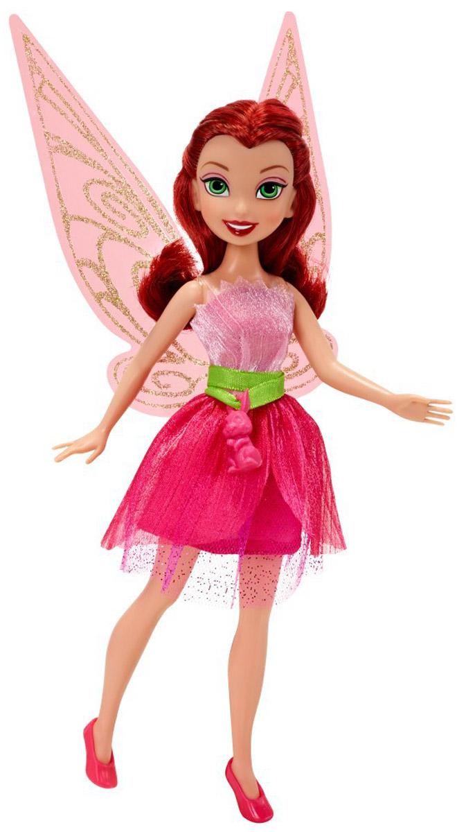 Disney Fairies Кукла Rosetta762730_розовыйКукла Disney Fairies Rosetta с удовольствием поселится в комнате своей горячей поклонницы и будет радовать ее своим присутствием. Всем известно, что Disney Fairies - это дружные, миролюбивые существа, каждая из которых имеет свой особенный дар и характер. Фея Rosetta - воплощение красоты и женственности. Своему внешнему виду она уделяет очень много внимания и обожает розовый цвет. Волосы куклы уложены в свободные волны. Розетта любит давать своим подругам советы по красоте, она очень щедрая и всегда старается видеть в феях только хорошие черты. Порадуйте свою малышку таким замечательным подарком!