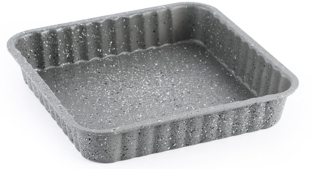 Форма для выпечки пирога Fissman, с антипригарным покрытием, квадратная, 24 x 24 х 4,5 смBW-5594.24
