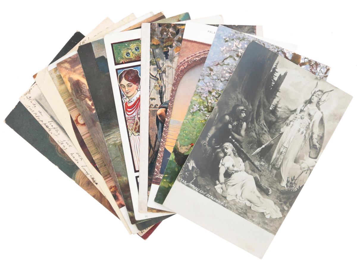 Живопись. Комплект из 11 открыток