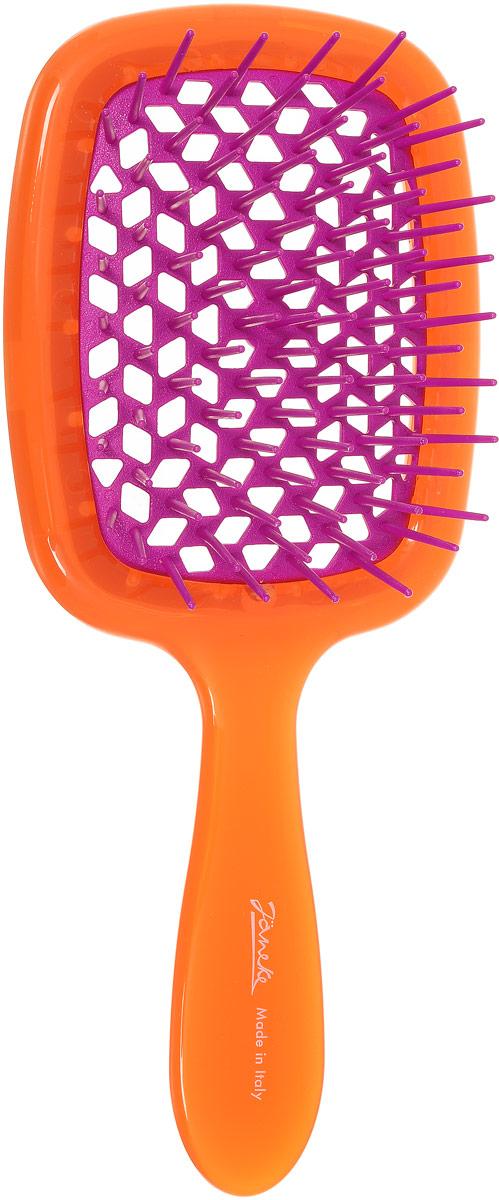 Janeke Щетка для волос. 86SP226 ARA808655Марка Janeke – мировой лидер по производству расчесок, щеток, маникюрных принадлежностей, зеркал и косметичек. Марка Janeke, основанная в 1830 году, вот уже почти 180 лет поддерживает непревзойденное качество своей продукции, сочетая новейшие технологии с традициями старых миланских мастеров. Все изделия на 80% производятся вручную, а инновационные технологии и современные материалы делают продукцию марки поистине уникальной. Стильный и эргономичный дизайн, яркие цветовые решения – все это приносит истинное удовольствие от использования аксессуаров Janeke. Цветная линия - это расчески и щетки, изготовленные из высококачественного пластика. Цвета меняются два раза в год в соответствии с последними трендами моды.