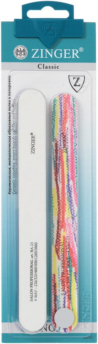 Zinger Набор пилок, zo-SIS-23, цвет: белый, мультиколор10712_белый-мультиколорZinger Набор пилок, zo-SIS-23, цвет: белый, мультиколор
